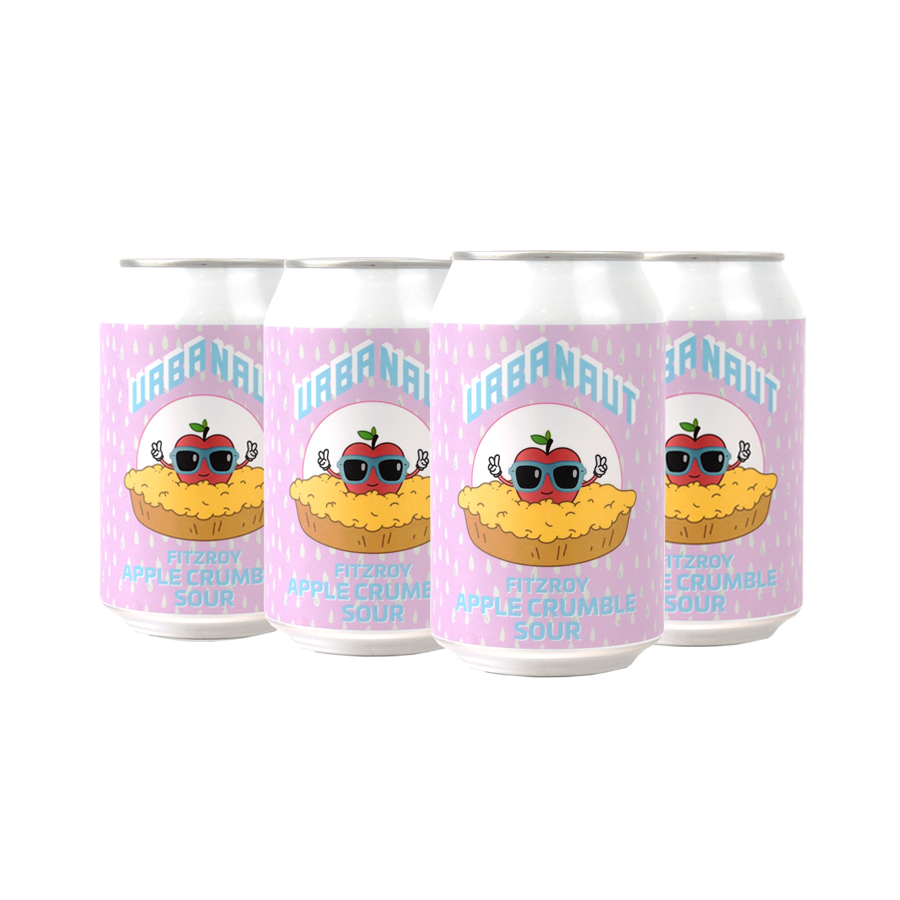 Fitzroy Apple Crumble Sour - 6 x 330ml Cans