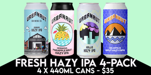 FRESH HAZY IPA 4-PACK - 4 x 440ml Cans