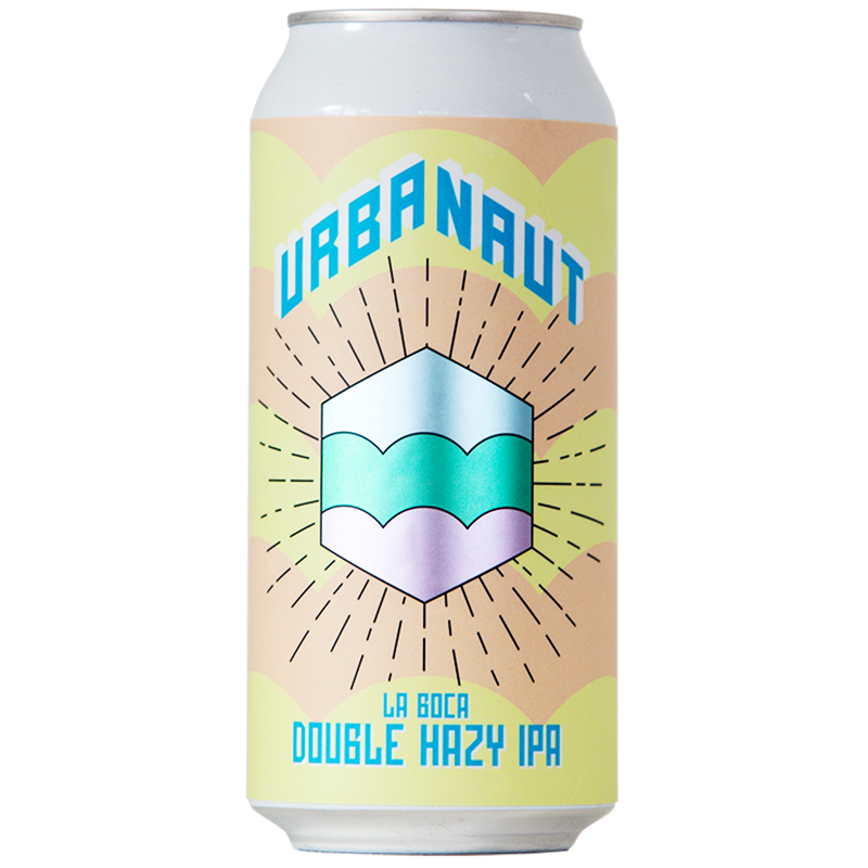 One large can of Urbanaut Beer