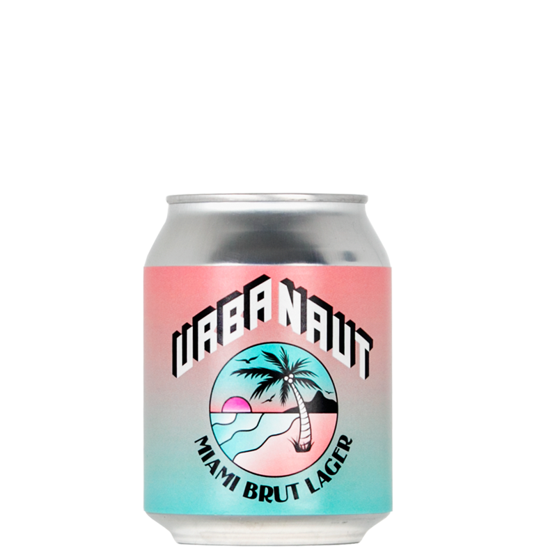 Miami Brut Lager 1 x 250ml Can