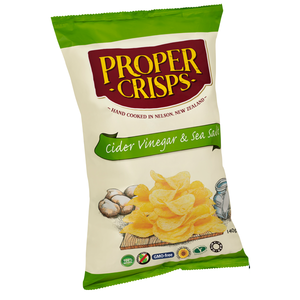 Proper Crisps Cider Vinegar - Large (140g)