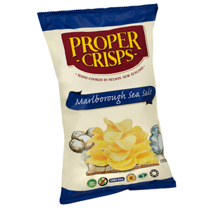 Proper Crisps Marlborough Sea Salt - Large (150g)