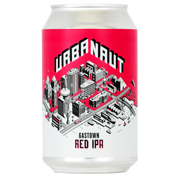 One can of Urbanaut Red IPA beer