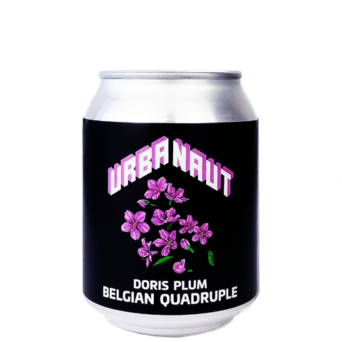 Doris Plum Belgian Quadruple  10% - 1 x 250ml Can