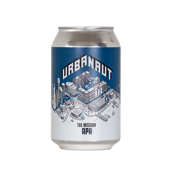 One can of Urbanaut beer