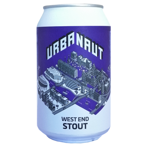 West End Stout - 12 x 330ml Cans 6%