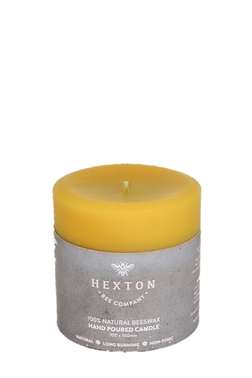 New! Solid Pillar Candle 100x100mm
