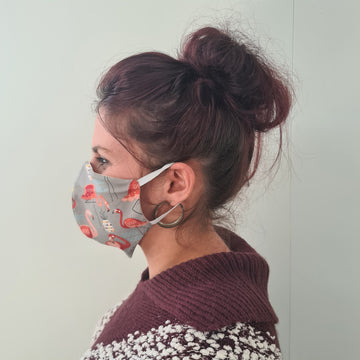 Flamingo Reusable Face Mask | Made in NZ