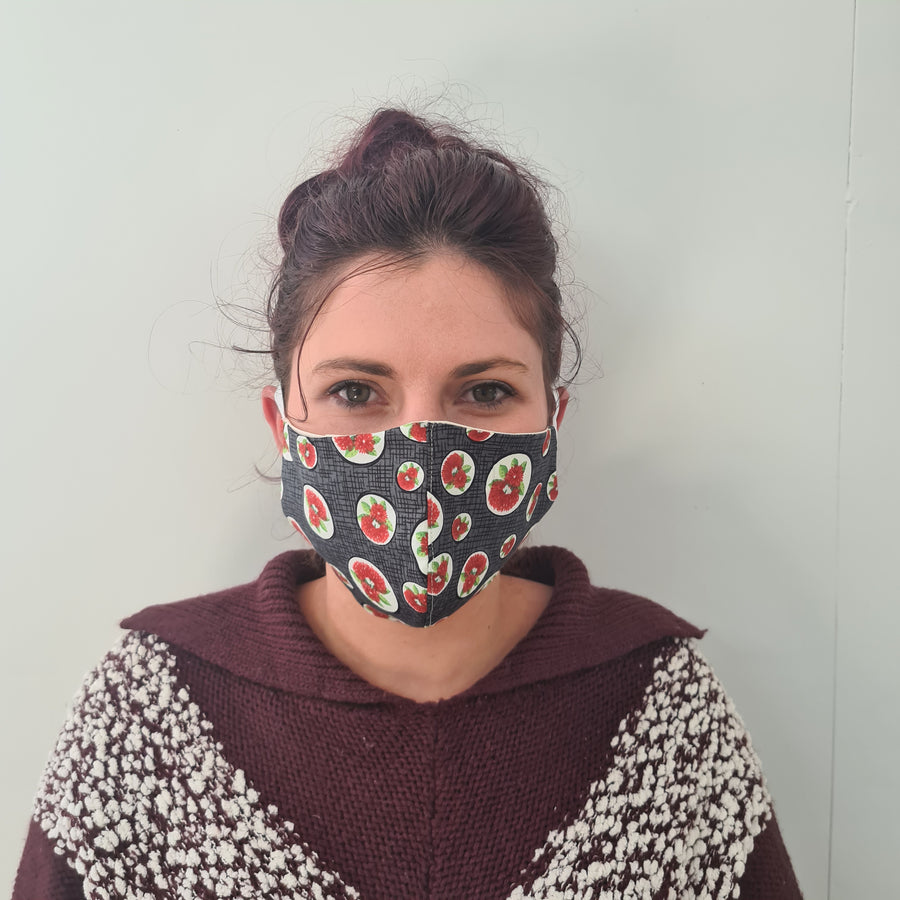 Pohutukawa Reusable Face Mask | Made in NZ