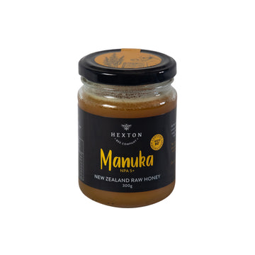 Manuka NPA 5+ | MGO 80+ New Zealand Raw Honey