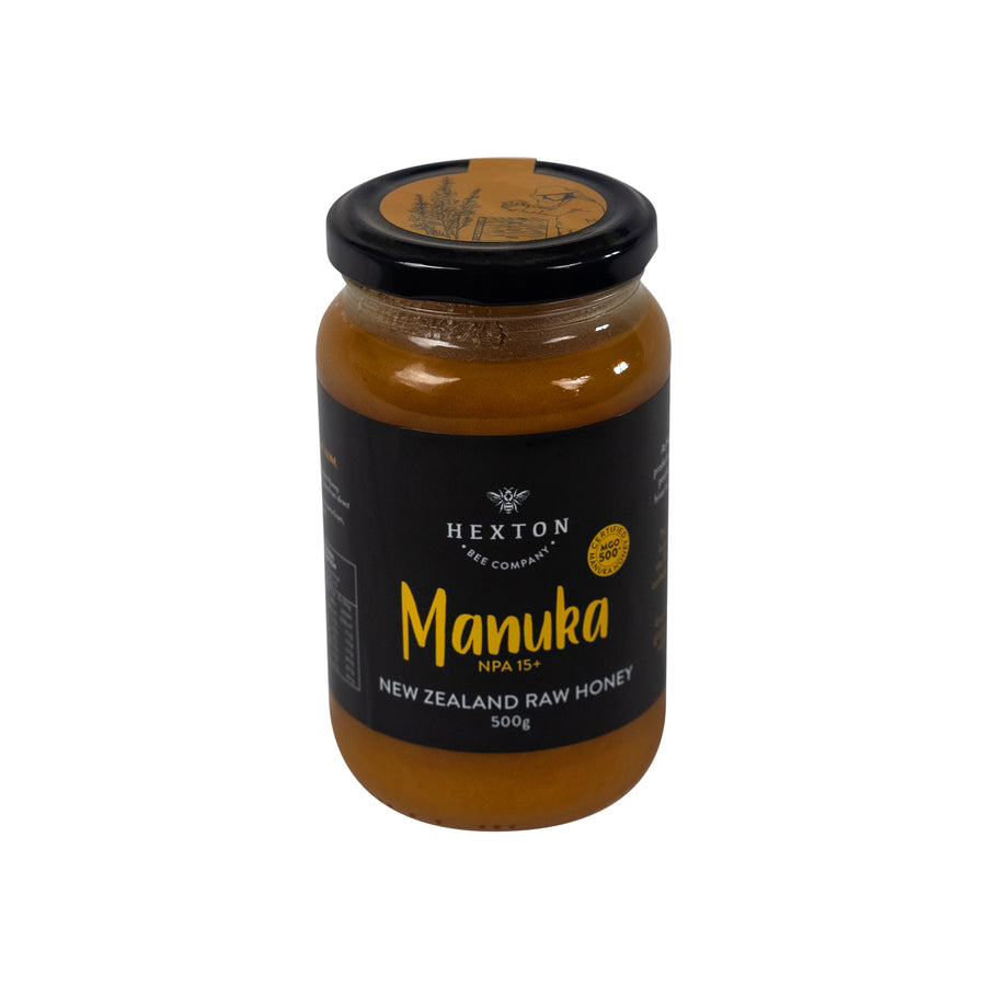 Manuka NPA 15+ | MGO 500+ New Zealand Raw Honey