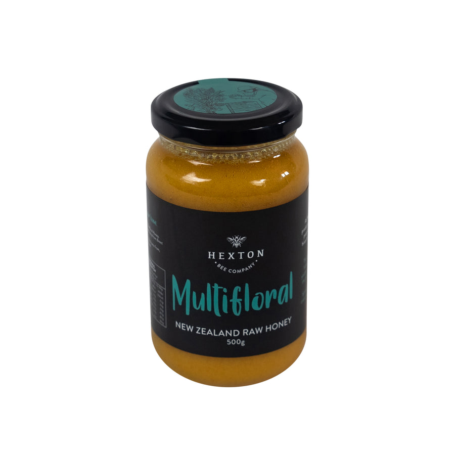 Multifloral New Zealand Raw Honey