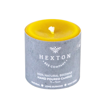 Solid Pillar Candle 75x75mm