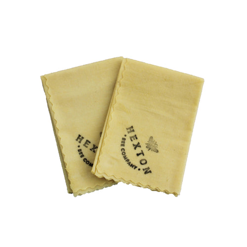 Small Beeswax Wrap - Twin Pack