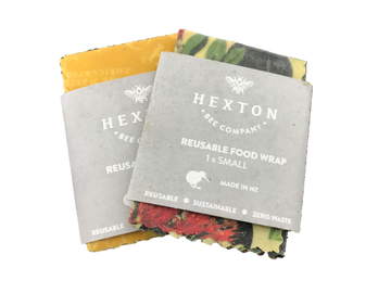 Small Beeswax Wrap Twin Pack - Fashion Pattern Assorted