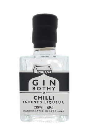 Gin Bothy Chilli Infused Liqueur miniature gin 5cl 20% Vol