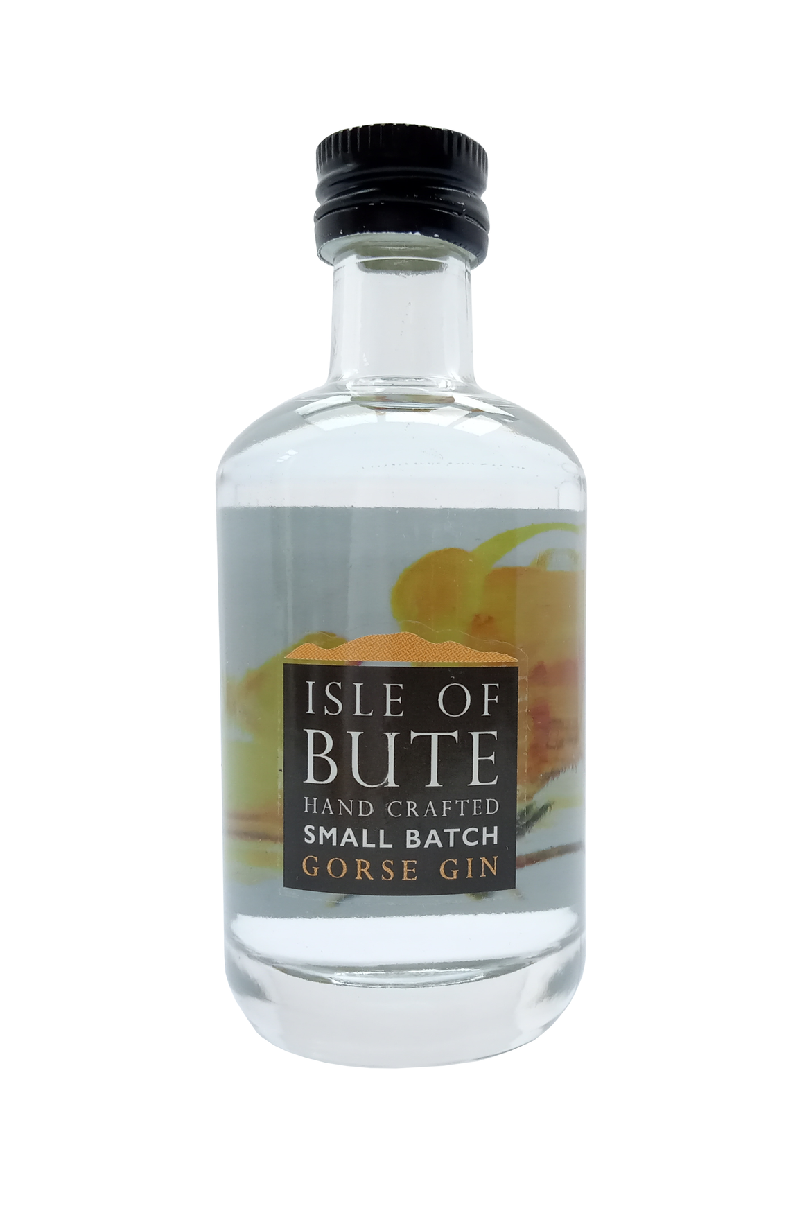 Isle of Bute Gorse miniature gin 5cl 43% abv