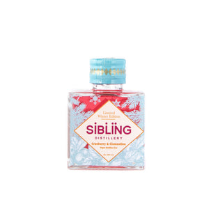 Sibling Winter Edition miniature gin. 5cl.  abv 42%