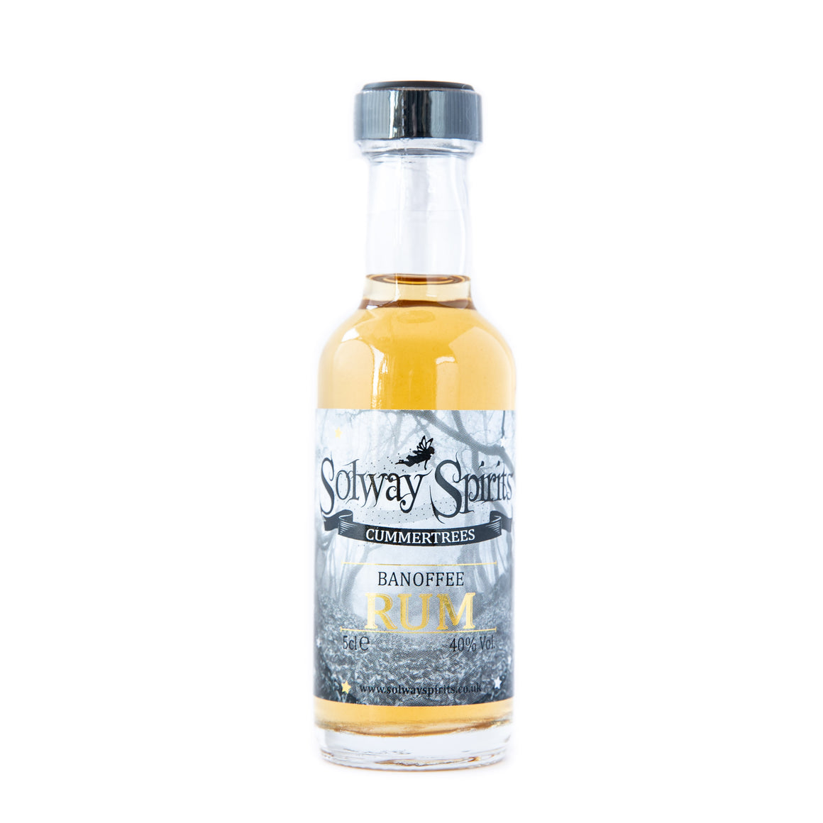 Solway Spirits Banoffee miniature rum 5cl 40%