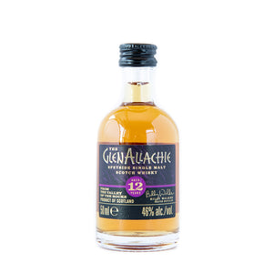 GlenAllachie Aged 12 years whisky 5cl miniature 46% vol.