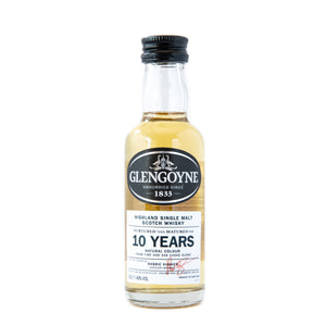 Glengoyne 10 Years Old Highland Single Malt whisky miniature 5cl 43% vol.