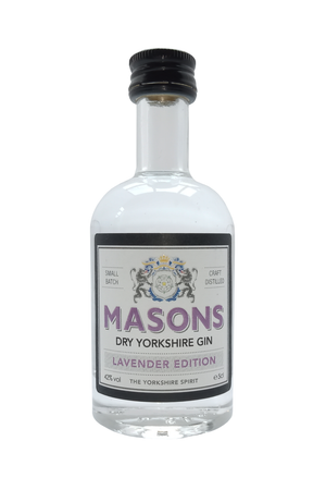 Masons Lavender Edition miniature gin 5cl 42% Vol