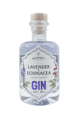 Old Curiosity Lavender and Echinacea miniature gin 5cl 39% Vol.