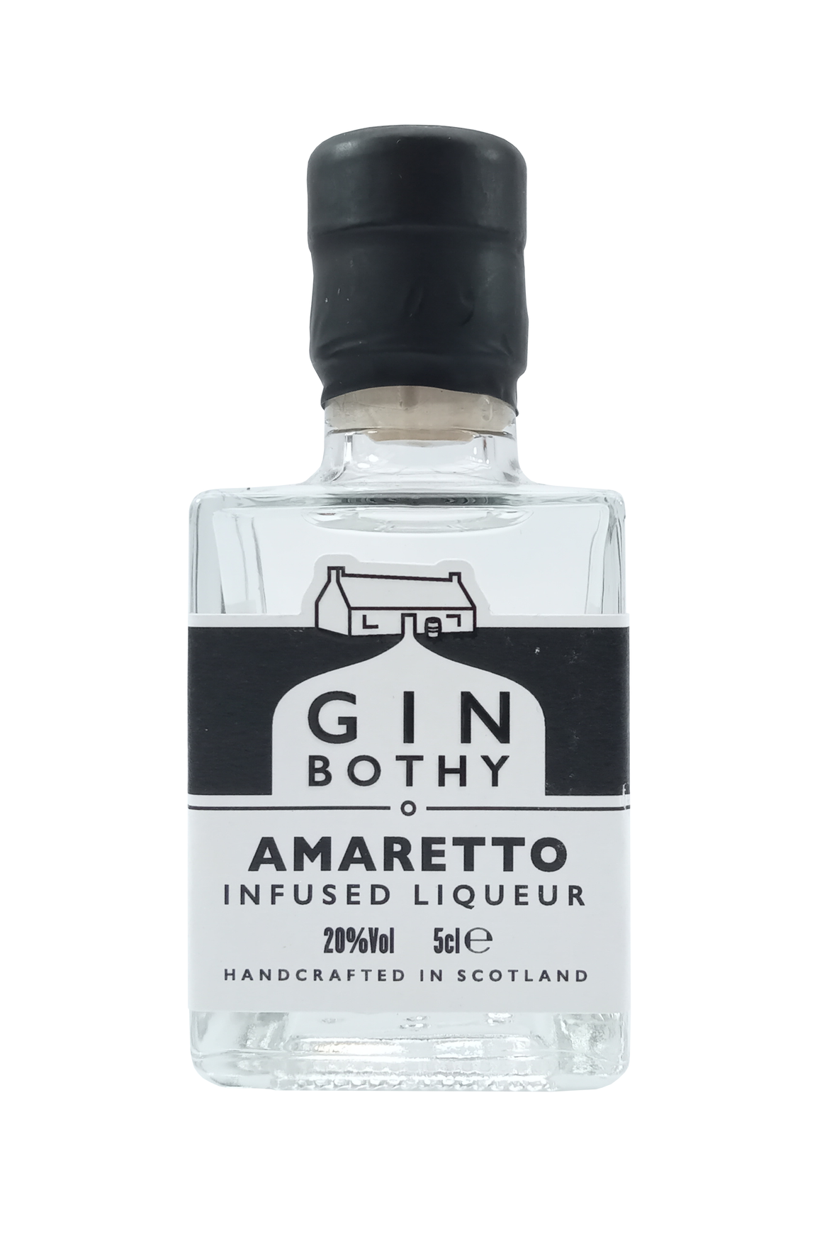 Gin Bothy Amaretto Infused Liqueur miniature gin 5cl 20% Vol.