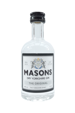 Masons Dry Yorkshire Gin miniature gin 5cl 42% Vol.