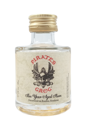 Pirates Grog 5 Year Aged miniature rum 5cl 37.5%