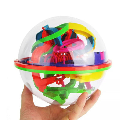 3D Labyrinth Ball Balance - Puzzle Toy