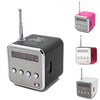 Portable Speaker Aluminum Alloy - Music Player with FM Radio