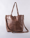 Siiqqee Tote - Chocolate Brown