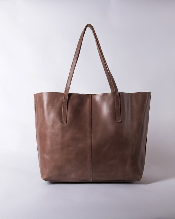 Ateetee Tote - Chocolate Brown