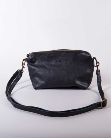 Sabbata Crossbody Bag - Black