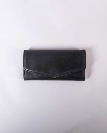 Muday Wallet - Black & Cognac