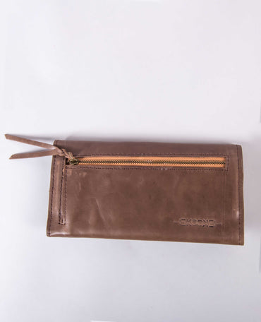 Muday Wallet - Chocolate Brown