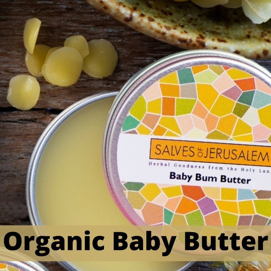 Organic Baby Butter - 57ml (2oz) - Salves of Jerusalem