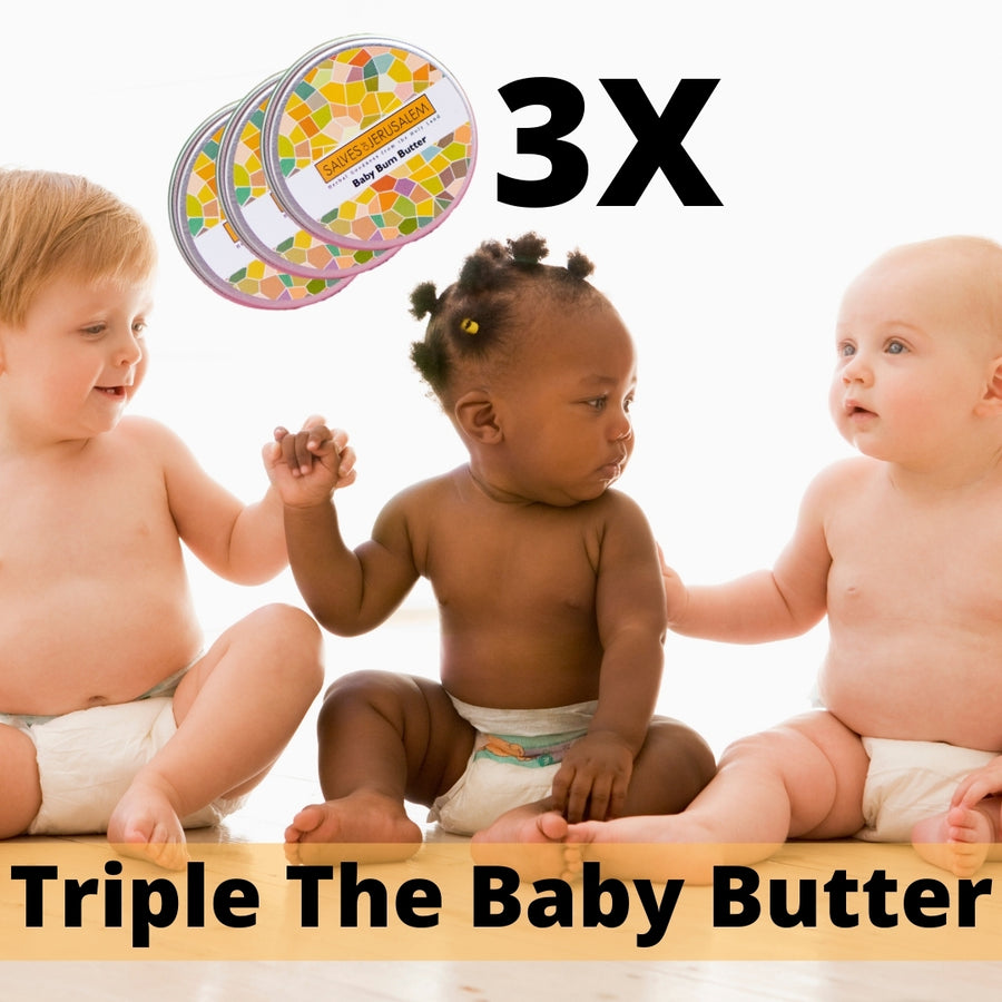 3-Pack of Organic Baby Butter! - Salves of Jerusalem