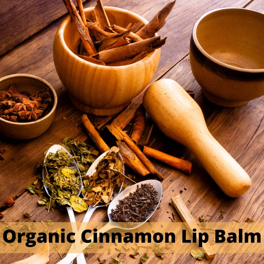 Yummy CinnaBalm Lips - Organic Lip Balm - Salves of Jerusalem