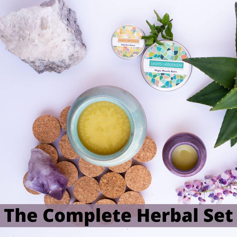 The Complete Herbal Family Set - Salves of Jerusalem