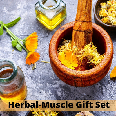 Herbal-Muscle Gift Set - Salves of Jerusalem
