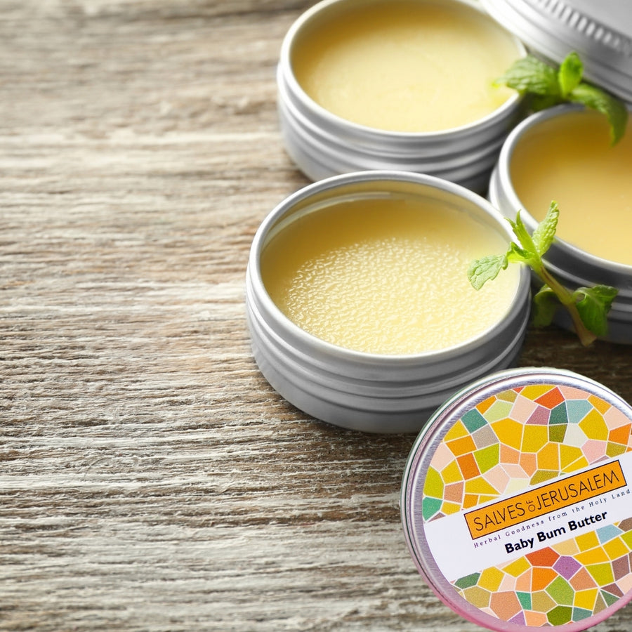 4 Pack of Organic Baby Butter! - Salves of Jerusalem - Organic skincare and natural creams using organic essential oils, Made In Israel