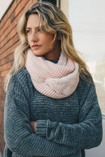 Infinity Scarf Faux Sherpa