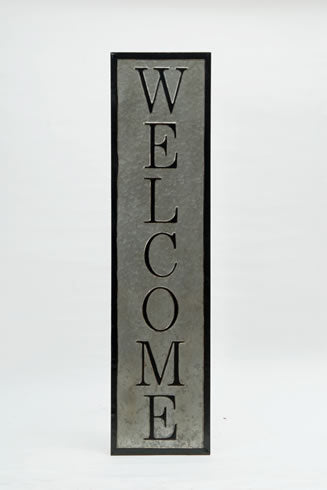 Metal Welcome 48""