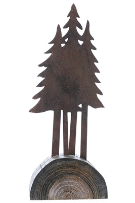 Metal Trees on Stand