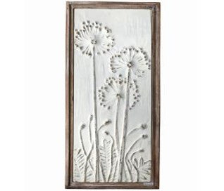 Dandelion Metal Wall Art