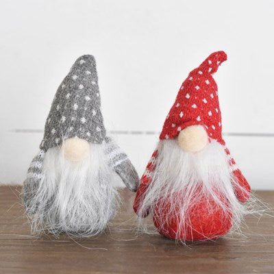 Red/Gray Dot Gnome
