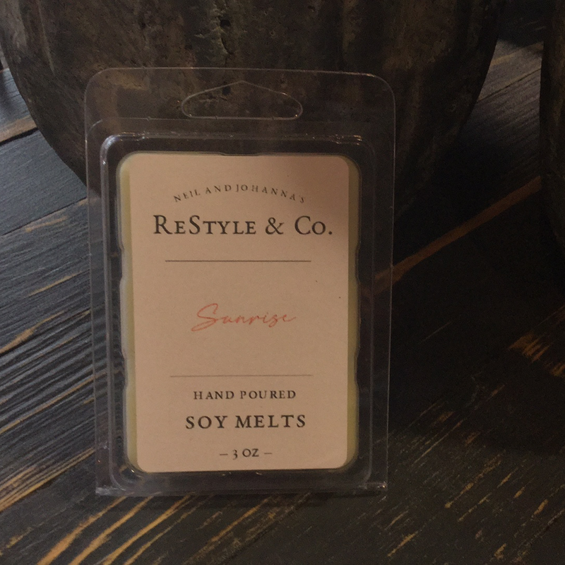 ReStyle & Co Soy Candle Spring/Summer
