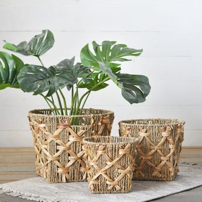 SeaGrass Blended Baskets